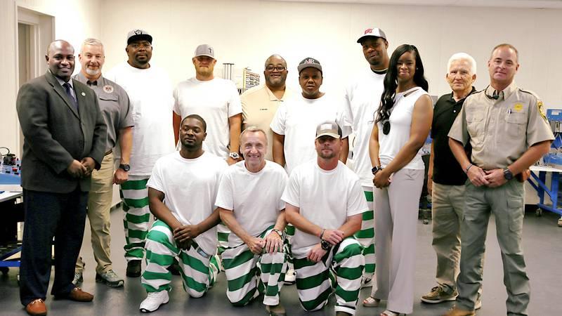 Thinking towards the future, Clay County inmates graduate from construction skills program