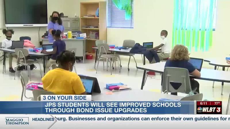JPS schools improving district through bond issue funding