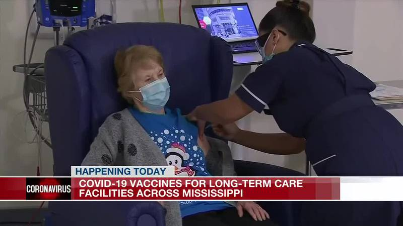 Vaccines rolled out at Miss. long-term care facilities