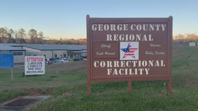 Most state inmates housed at the George County jail were transferred from the South Mississippi...