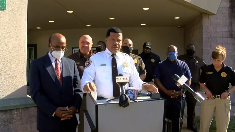 Sheriff Marshand Crisler discusses the death of an immate at the Hinds County Detention Center...