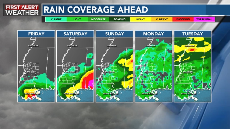 Quiet Weather Holds On Thursday Before Waves of Rain, Storms Return This Weekend
