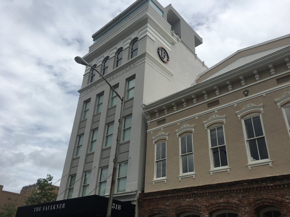 The Faulkner building opened in late June as a wedding and special events venue. Millions have...