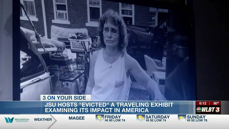 'Evicted' exhibit at JSU documents plight of residents forced from their homes in the state and...