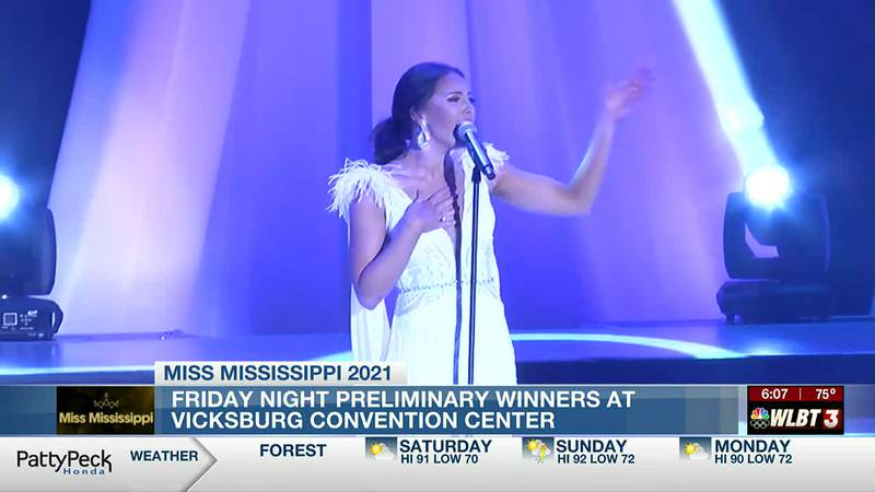 Miss Mississippi preliminary winners announced