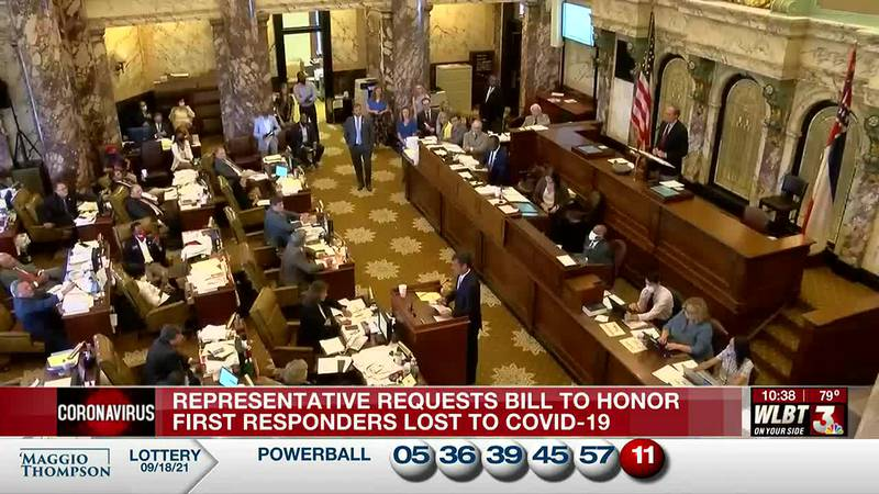 One state representative hopes to pass a bill that compensates families of first responders who...
