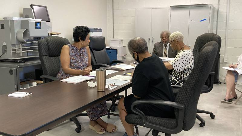 Hinds Co. Election Commission met August 5 to discuss several questions about previous...