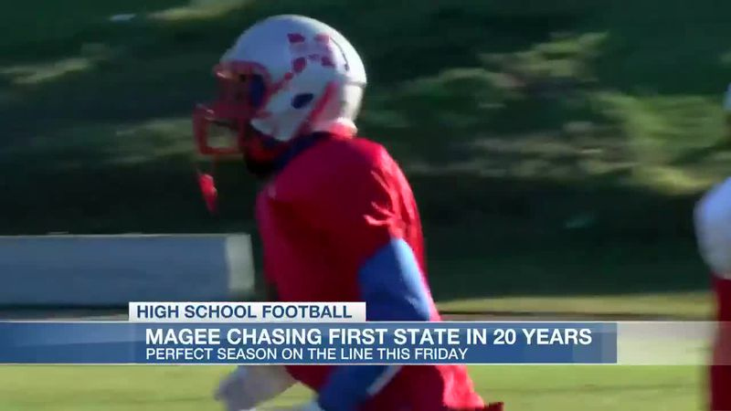 Magee chasing first state title in 20 years