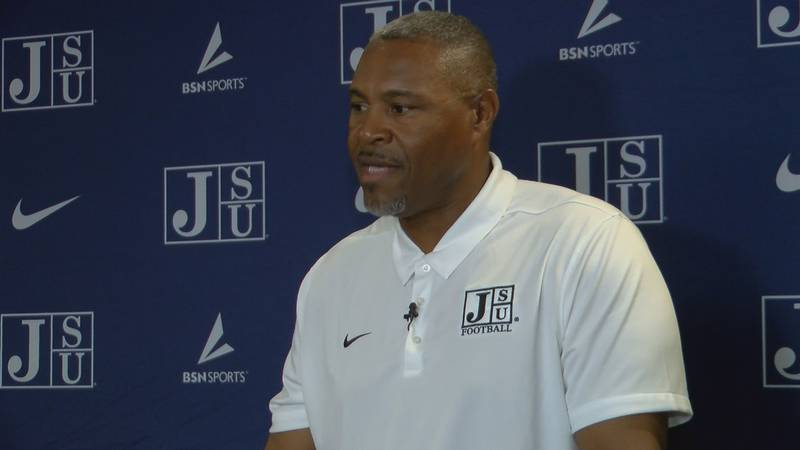 Coach Hendrick says Jackson State's secondary is the best part of his defense.   He says this...