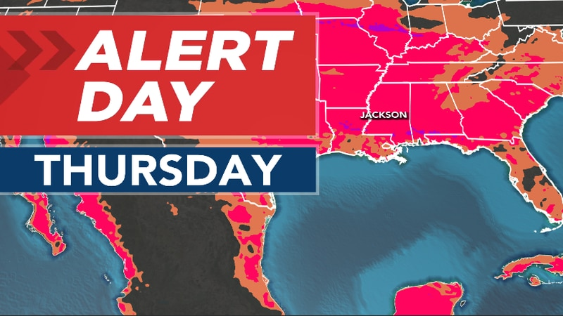ALERT DAY Continues Through Late Week, Into Weekend