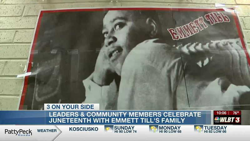 Emmett Till's family honored during Juneteenth celebration in Jackson, demands answers from...