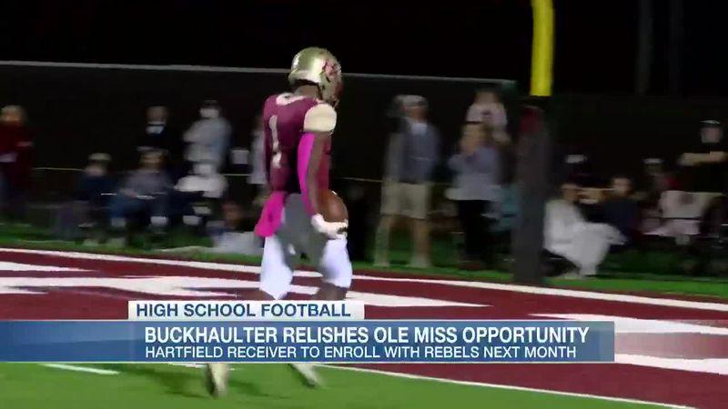 Brandon Buckhaulter relishes Ole Miss opportunity