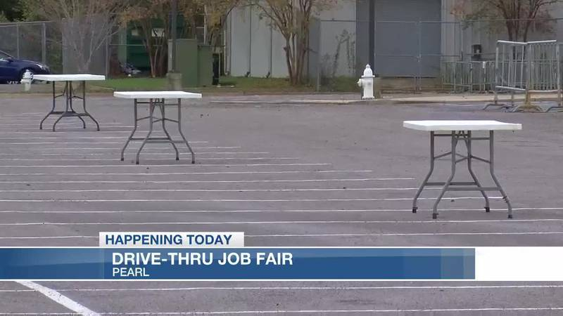Dozens of companies hiring at drive-thru job fair