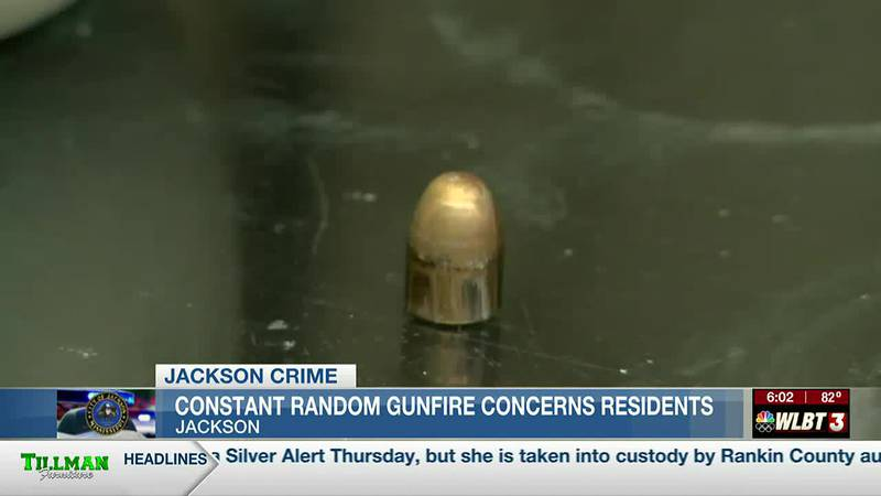 Residents grow tired of hearing random gunfire and the dangers it poses