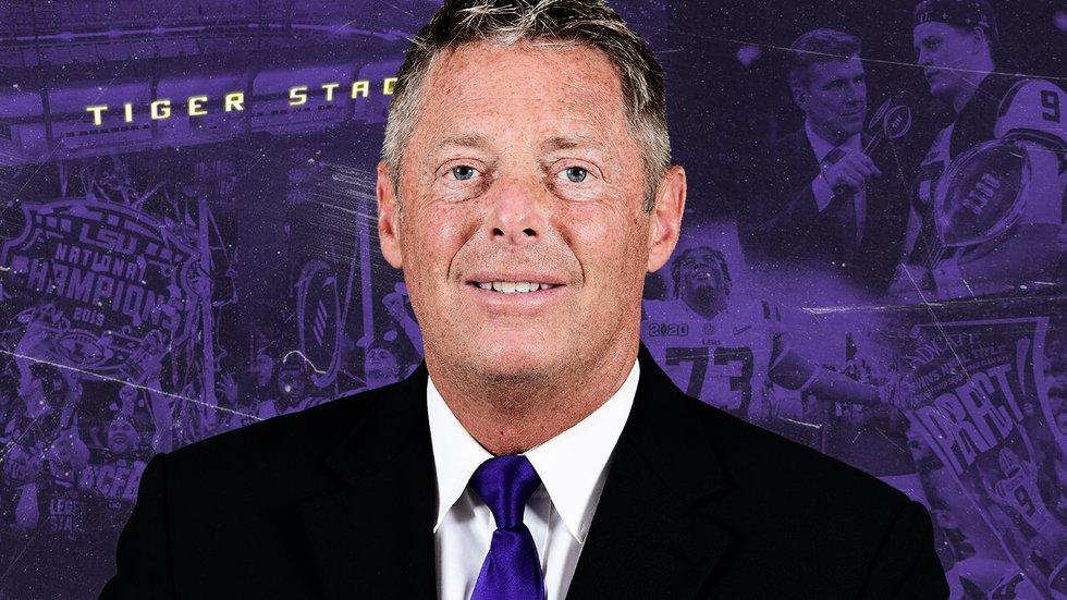 LSU Safeties Coach William Busch