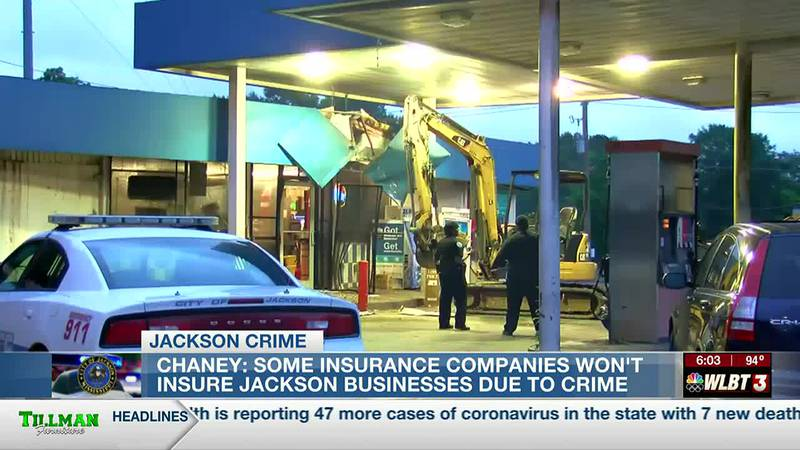 Parts of Jackson considered 'high risk' for insurance coverage due to crime