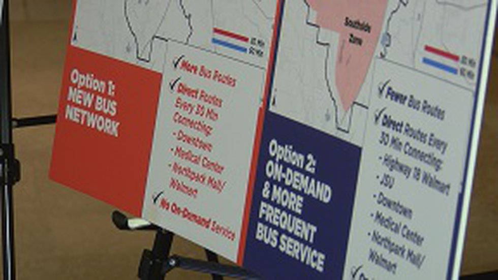 An open house was held for Jatran riders to look over the proposal to add routes and service...
