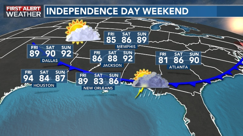 Front Sweeps Through Friday, Ushering In Quieter Weather Into The Weekend