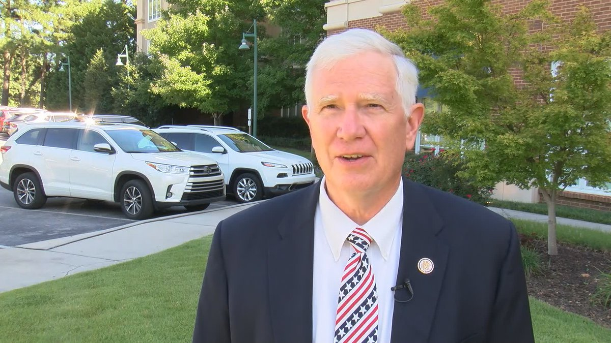 Rep. Mo Brooks spoke about Huntsville's chances of being part of U.S. Space Command.