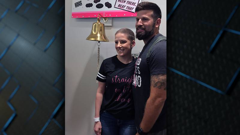 Megan Badon was diagnosed with an aggressive form of breast cancer 10 days before her wedding...