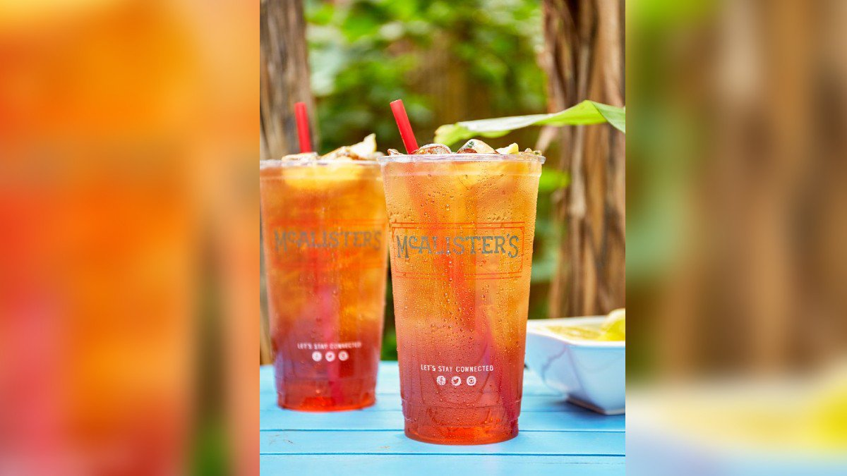 Free sweet tea Thursday at McAlister's Deli