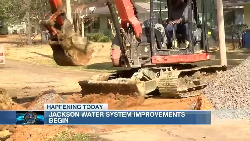 Water system improvements begin in Jackson