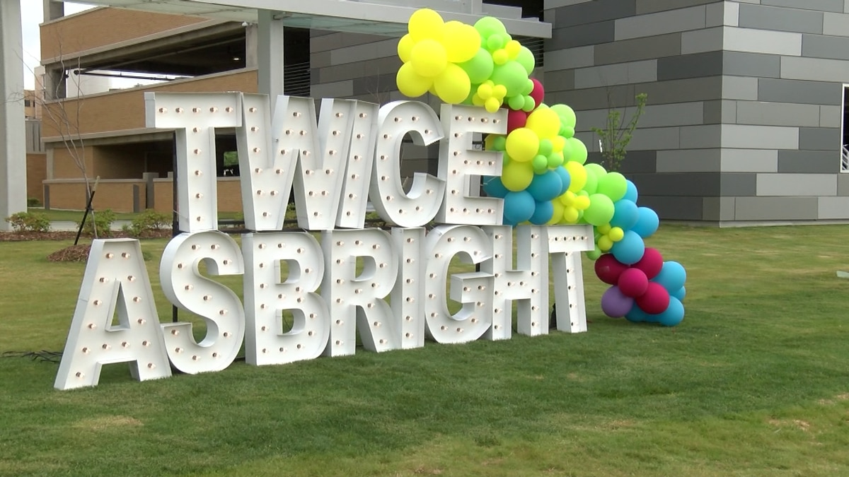 Twice as Bright is a special fundraising campaign taking place at Children's of Mississippi...