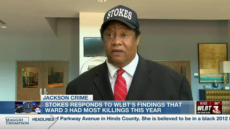 Jackson councilman responds to WLBT analysis showing more homicides in his ward than any other