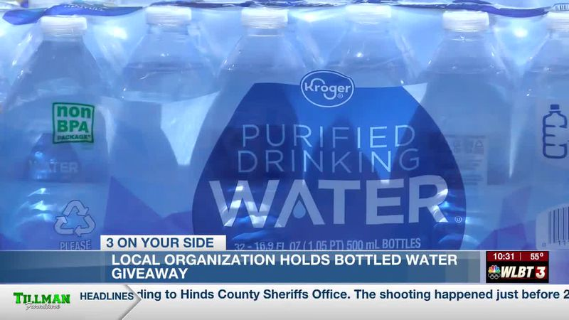Local Organization Holds Bottled Water Giveaway To Help Residents Impacted From Jackson's Water...