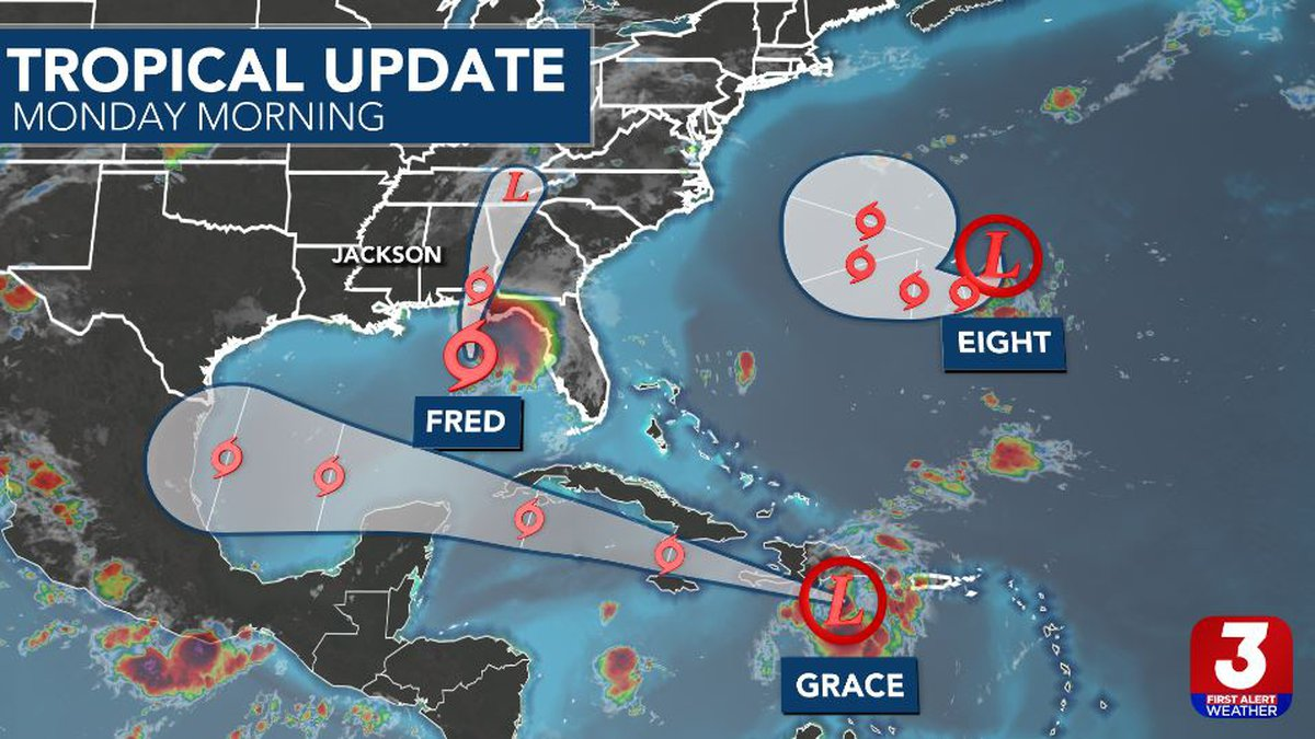 It's busy out in the tropics! Fortunately, no direct, local impacts are anticipated at this...