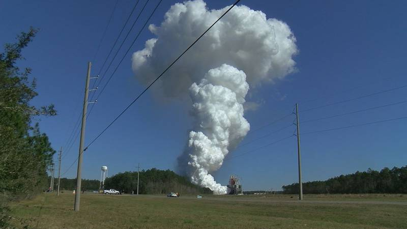 Stennis Space Center successfully performed its final Green Run hot fire test for the SLS...