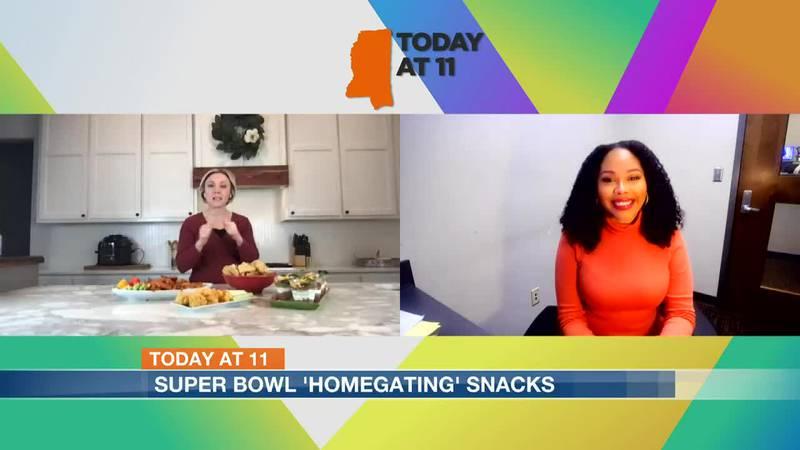 Today at 11: Super Bowl 'homegating' snacks