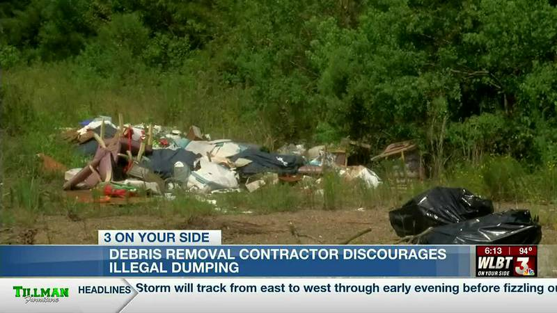 Debris removal contractor discourages illegal dumping, offers tips for securing reputable...