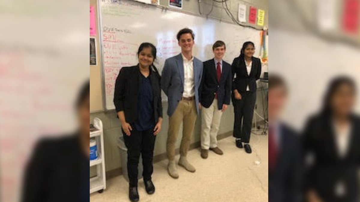 Germantown High School students finish among four finalists in National Personal Finance...