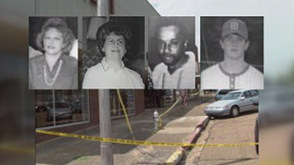 Carmen Rigby, Bertha Tardy, Robert Golden, and teenager Bobo Stewart were shot to death July...