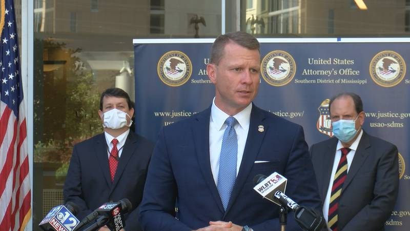 U.S. Attorney Mike Hurst announces four new indictments in the Mississippi I.C.E. raid...