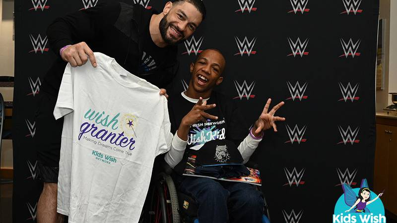 Markel and WWE star Roman Reigns