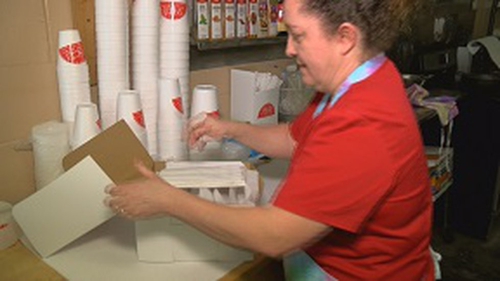 Tom's Fried Pies offers a variety of fruit pies and other treats. (Source: WLBT)