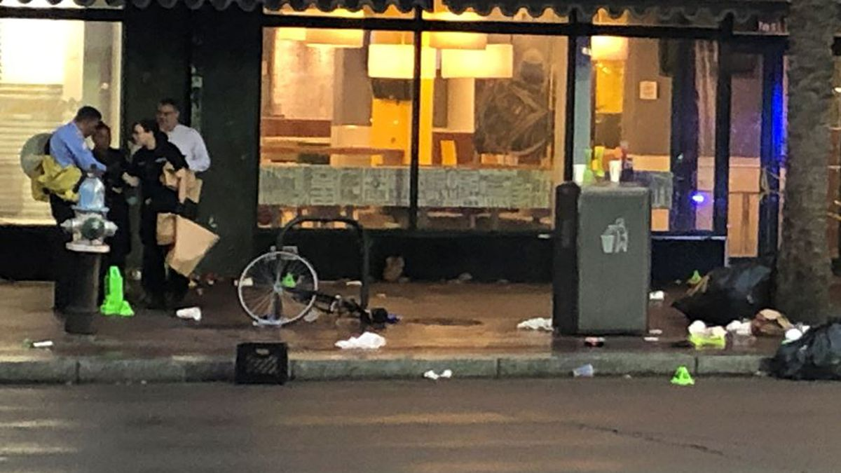 11 people were shot on Canal Street leaving two in critical condition