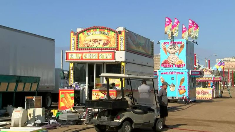 The five-day festival starts Wednesday night, with a wristband night for all the rides.