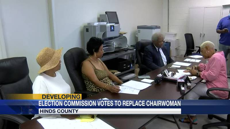 Election commission chair resigns minutes before board votes her out