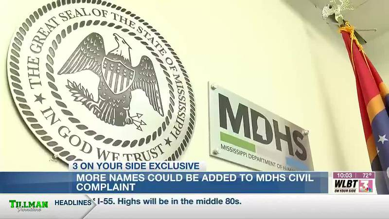Additional names could be added to list of those who receive MDHS civil complaints