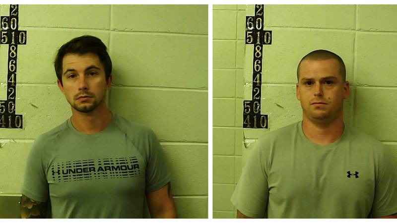 Bryce Gilbert (left) and Christopher Wade Robertson (right)