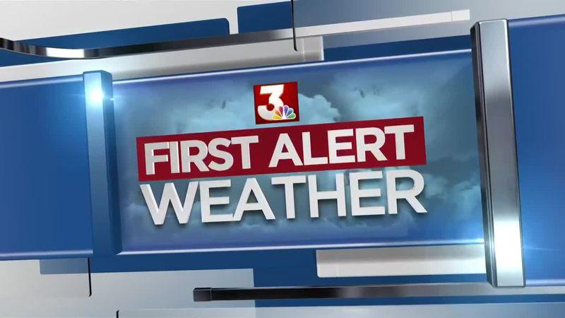 First Alert Forecast: cooler Friday; beautiful weekend ahead
