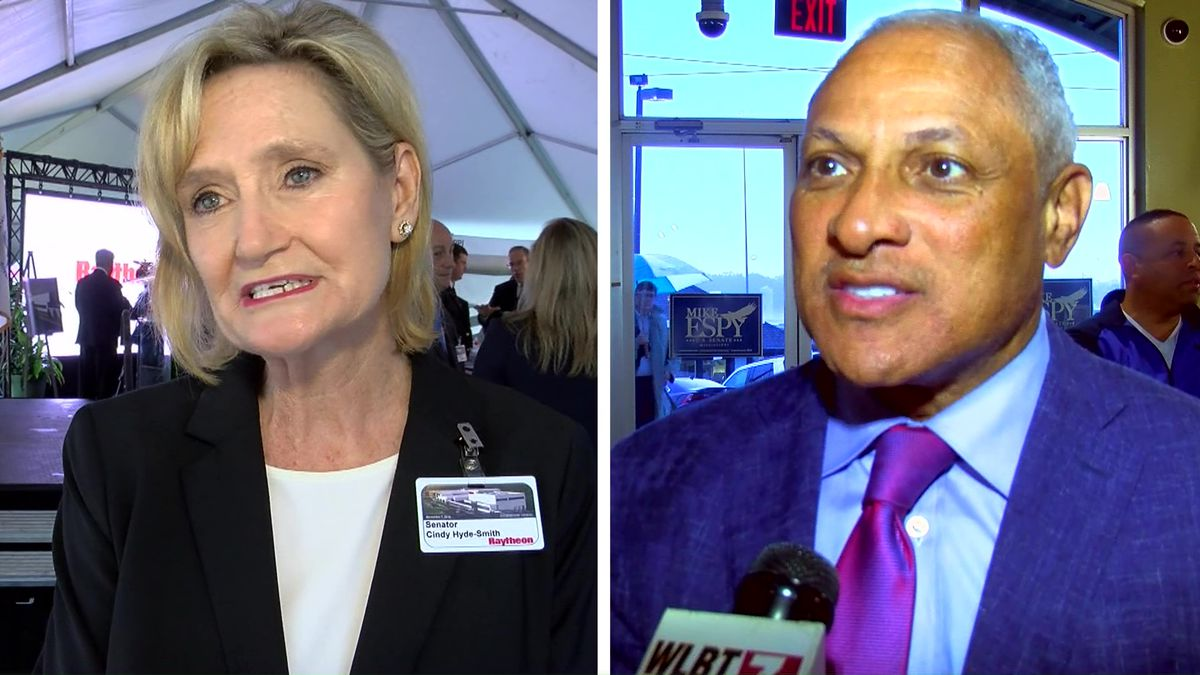 Cindy Hyde-Smith and Mike Espy  (Source: WMC Action News 5)