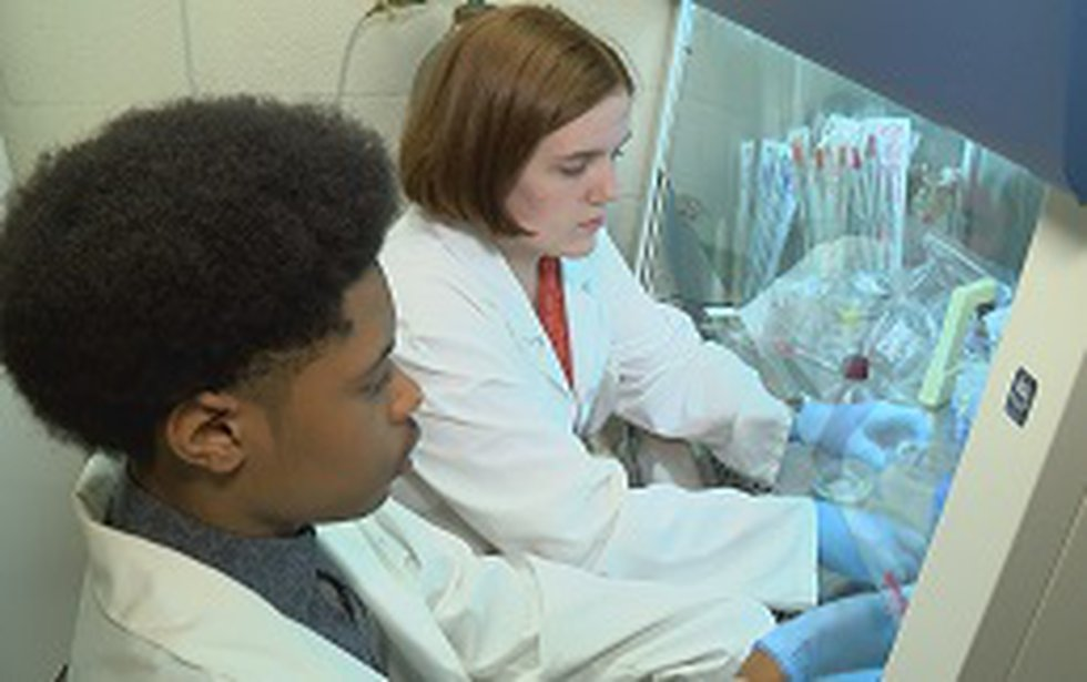 Students are researching everything from the flu virus to DNA and brain cancer. (Source: WLBT)
