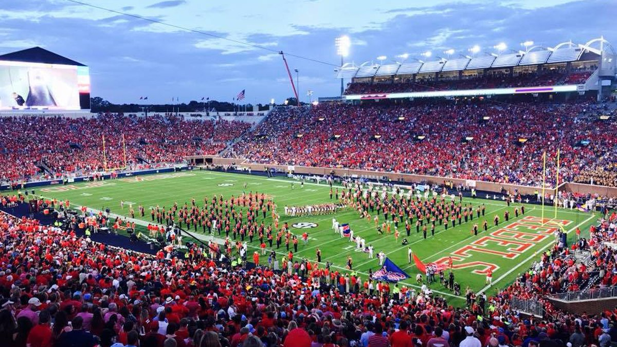 Party School: Ole Miss adding student party decks for football. Source: WLBT