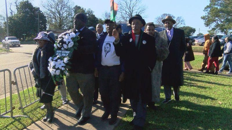 MLK wreath-laying ceremony
