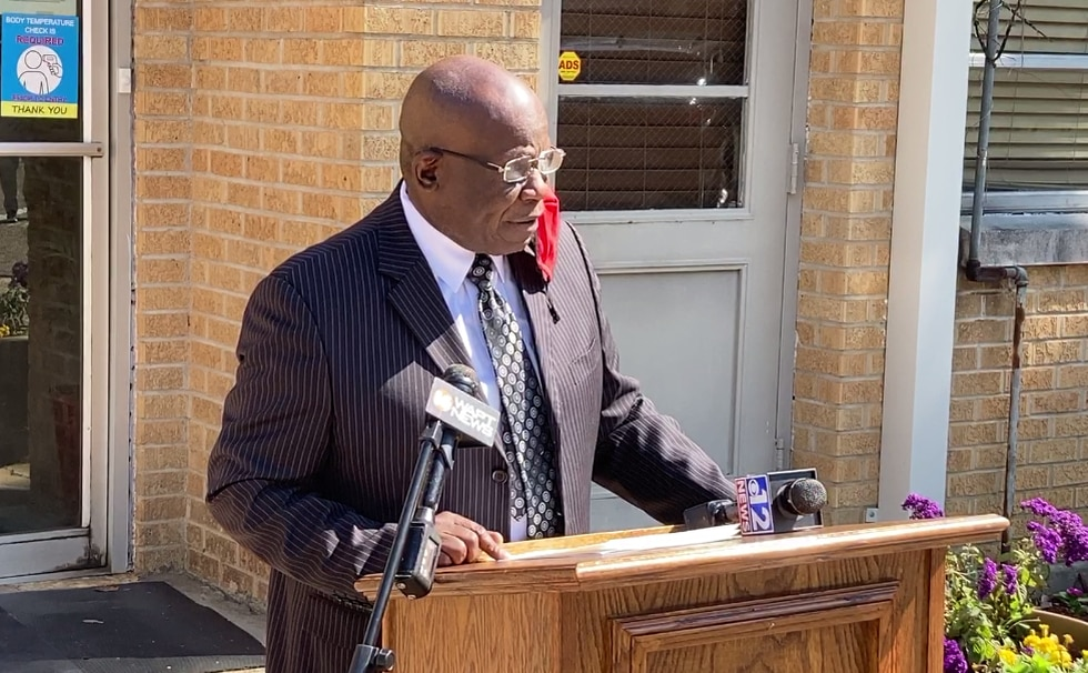 Canton Mayor William Truly announces that the 2021 Democratic primary results had been accepted...