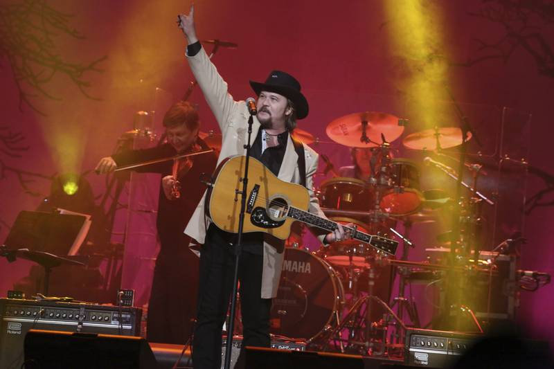 """Artist Travis Tritt performs at """"1 Night. 1 Place. 1 Time.: A Heroes and Friends Tribute to..."""